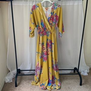 Flying Tomato Floral Jumpsuit SZ XS